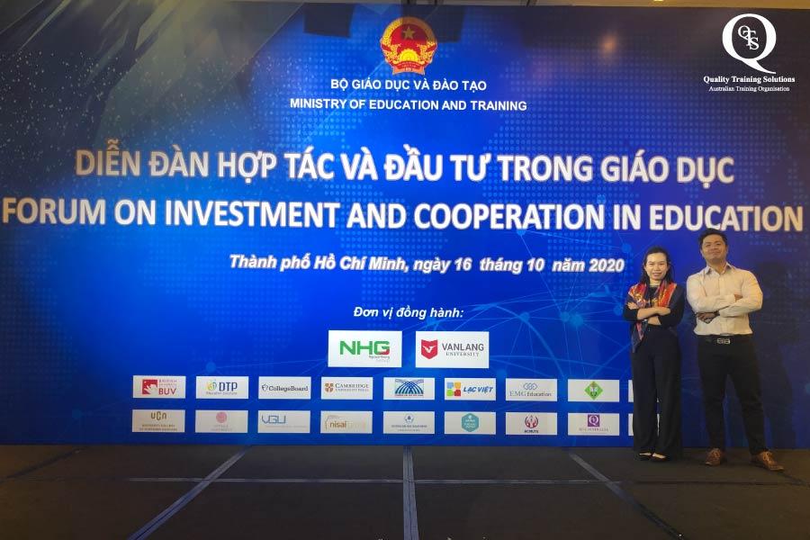 Diễn đàn hợp tác và đầu tư trong giáo dục