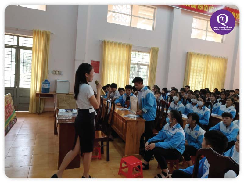 QTS Sự kiện trường THPT Trường Chinh - Đăk Nông