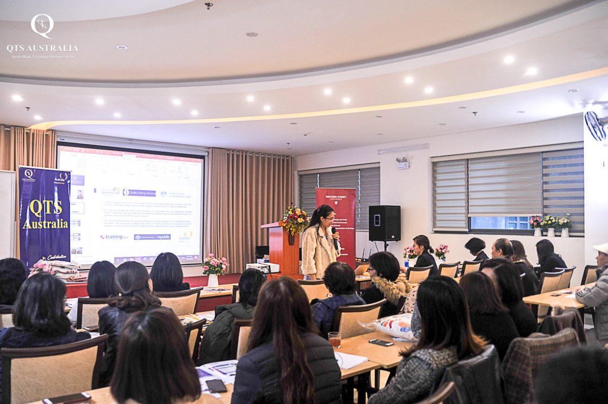 """QTS Training: Chương trình """"Đào tạo về du học và hệ thống giáo dục Úc"""